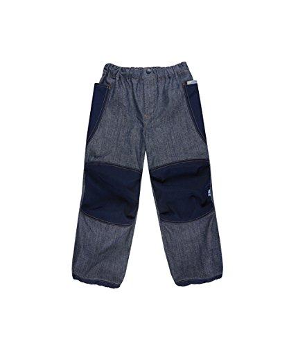 Finkid Kuu denim jeans navy Kinder Outdoor Hose