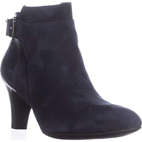 Alfani Womens Viollet Suede Suede Closed Toe Ankle Fashion