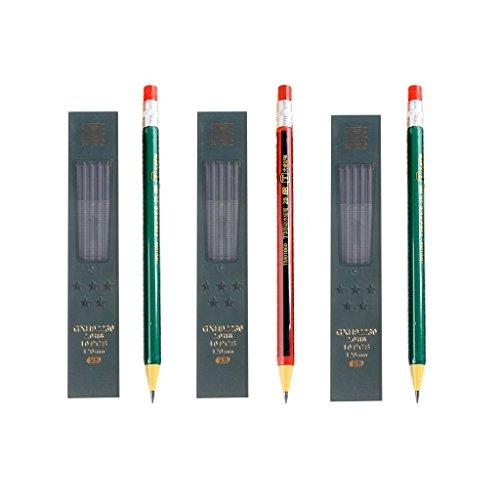 PULABO 詰め替えボックス付きシャープペンシル詰め替えタイプ1セットシンプルクリック2.0 mm 実用的 目新しい