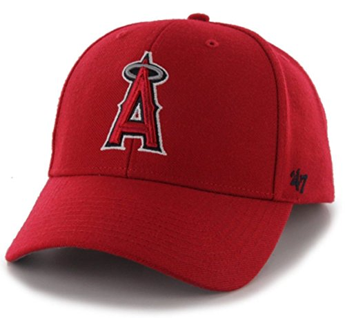 '47 Authentic Los Angeles Angels of Anaheim MVP - Home Color Red