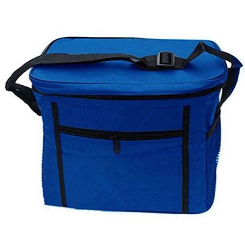 millya extérieur 10 l bandoulière Sac repas isotherme pique-nique boissons Transporteur Bleu Bleu Moyen