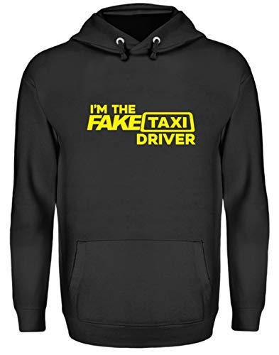 EBENBLATT Lustig I'm The Fake Taxi Driver Auto Fahrer Beruf Geschenk Geschenkidee - Unisex Kapuzenpullover Hoodie -L-Jet Schwarz