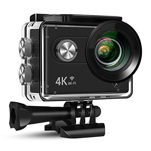 Xmate Stunt Sports Action Camera (Black)   Fast Mode - up to 120 FPS Video Recording  16MP Camera   4K Video Vecording   Water-Resistant   Supports Micro SD Card up to 32G