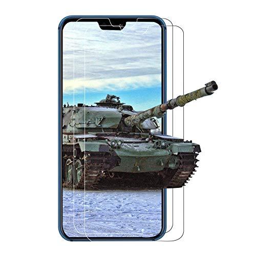 【3 Stück】Panzerglas Schutzfolie für Huawei P20 Lite, Gehärtetem Glas Bildschirmschutzfolie Schutz Film, HD, Anti-Öl, Anti-Fingabdrücken und Anti-Blase für Huawei P20 Lite Panzerglas - Transparent