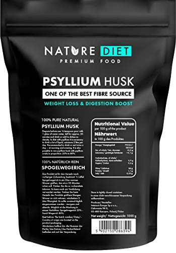 Nature Diet Flohsamenschalen, 1000 g