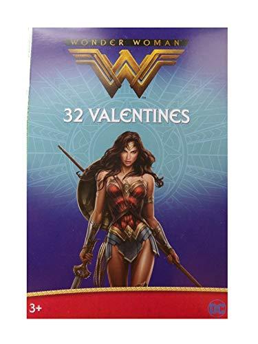 Wonder Woman Valentine 32 Card Pack