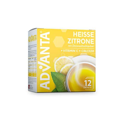 ADVANTA Heisse Zitrone 3er Pack, 3 x 144 g, Vitamin C und Calcium