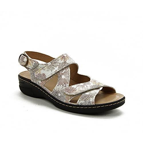 Belvida - Sandalen für: Damen, Beige - beige - Größe: 38 EU