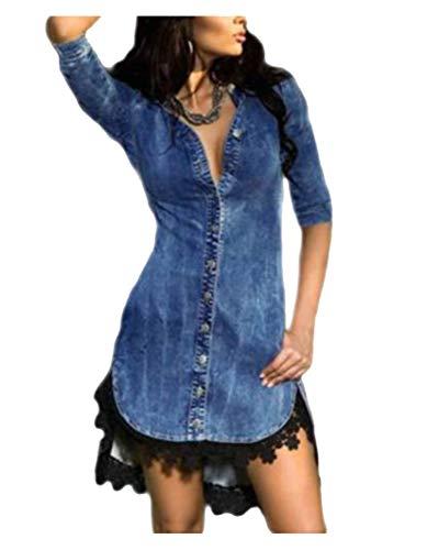 Vestido Mujer Corto - Elegante para Ceremonia y Eventos, Novia o Dama de Honor - para Fiesta Discoteca Moda Baile