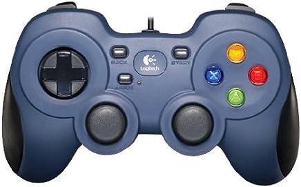 Logitech Gamepad F310 Controller For PC - Blue