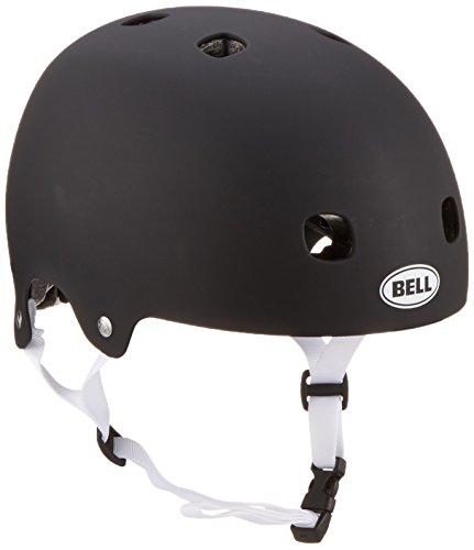 Bell Erwachsene Fahrradhelm Segment Junior 16, Mat Black, 48-53 cm