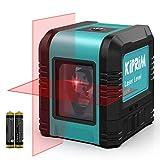 Kiprim レーザー墨出し器 水平器 レーザーレベル 2ライン レーザークラス2 LV1R