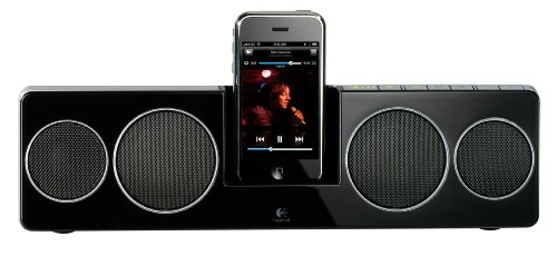 Logitech Pure-Fi Anywhere 2 Compact Docking Speakers for iPod and iPhone (Black)