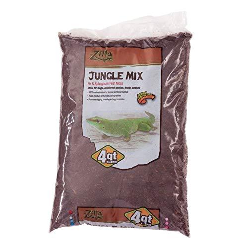 Reptile & Exotics Supplies Rzilla Jungle Mix