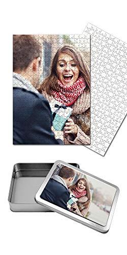 Puzzle Personalizzato con Foto Inclusa Scatola Regalo Personalizzata Puzzle 30x40 cm. 360 Tasselli