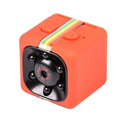 Videocamera SQ11 Mini Micro HD Dice Videocamera per visione notturna HD 1080P 960P Videocamera Sensore di movimento Videocamera Monitor Telecomando Wifi (colore: rosso 960P)