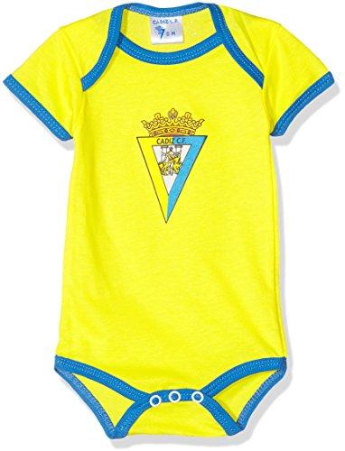 Cádiz CF Bodcad Body, Bebé, Multicolor (Amarillo/Azul), 18