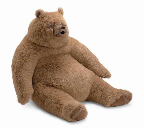 Manhattan Toy Kodiak Bear Jumbo Stuffed Animal Toy