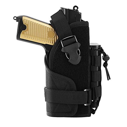 FUNANASUN Molle Pistol Holster,Universal Adjustable Tactical...