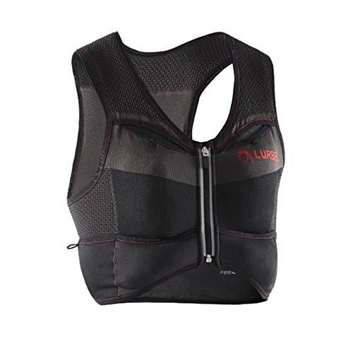 Lurbel Pro Line Kylie Pro, Chaleco de Trail Running, Chaleco de hidratación, Mochila Ligera hasta 4 litros, Chaleco Textil para Correr. para Mujer y Hombre. (M - Mediana)