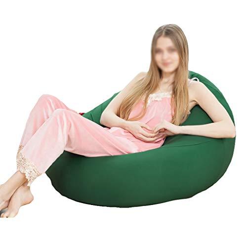 Chaises Longues canapé Chaise Longue canapé de Loisirs Bean Bag Dossier Balcon Chambre à Coucher Loisirs Portatif 6 Couleurs 90 * 60 * 35cm (Couleur : B)