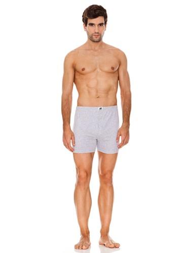 Abanderado clásico algodón 100% punto, bóxer para hombre, (blanco 001), xx-large (tamaño...