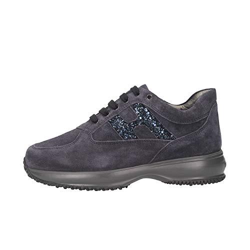 Hogan Junior HXC00N0O240GHMU810 Sneakers Bambina Blu 34
