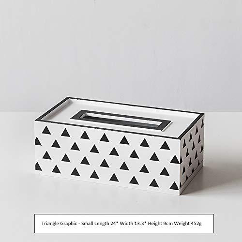 Seidenbox Aus Holz, Tablett, Haushalt, Aufbewahrungsbox Triangel-Grafik-Trompete