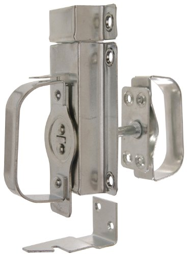 The Hillman Group 851904 Swinging Door Latch- Zinc Plated 1-Pack