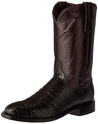 Lucchese Men's Dustin Western Boot, Black, 13 D US