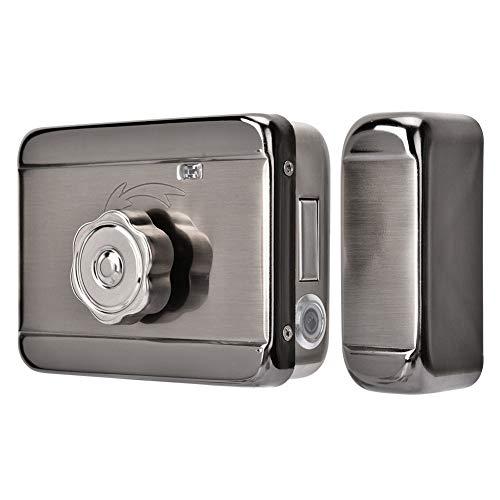 Elektronisch intelligent deurslot, elektrisch veiligheidsslot met enkele kop, deur Access Control System Kit