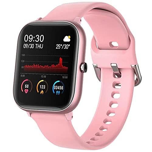 Smartwatch,Reloj Inteligente con Pulsómetro,Cronómetros,Calorías,Monitor de Sueño,Podómetro Monitores de Actividad Impermeable IP67 Smartwatch Hombre Reloj Deportivo para Android iOS
