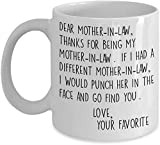 Top 20 Best Mother In Law Mugs