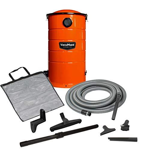 VacuMaid GV30O Wall Mounted Garage and Car Vacuum with 30 ft Hose and Tools