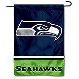 WinCraft Seattle Seahawks Double Sided Garden Flag