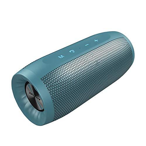Bluetooth-Lautsprecher Tragbarer Bluetooth-Lautsprecher Outdoor-HiFi-Subwoofer Ip4 Wasserdichte Bass Wireless-Spalte mit Tf-Kartensteckplatz, 2