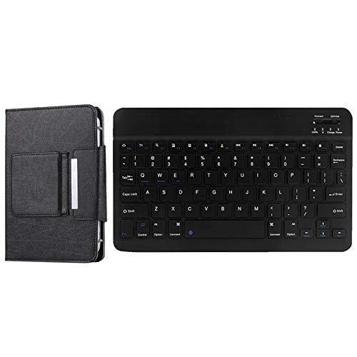 SODIAL Cover Case + Keyboard for ALLDOCUBE IPlay20 Teclast P20HD Tablet Keyboard 10.1Inch Tablet Case