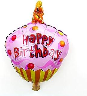 2019 Latest Design Big Hamburg Balloon Boy Happy Birthday Party Food Decoration Cake Shop Inflatable Balloons Event Air Balls Kids Toy Home & Garden