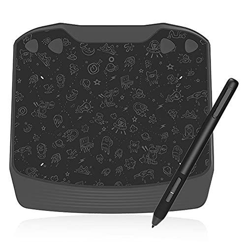 Xyfw Tableta Gráfica De Dibujo, Bolígrafo Sin Batería De 8192 Niveles para Escritura Digital, Pintura/Juego OSU, Tableta NO Cara