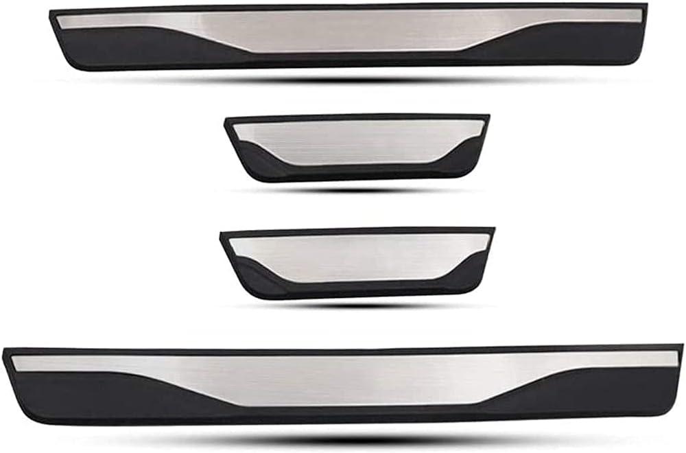 4 Piezas Coche Umbral Puerta para Kia Ceed Proceed Xceed GT SW CD, Acero Inoxidable Pedal La Puerta Coche Protector Accesorio