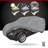 Walser Telone antigrandine Hybrid UV Protect SUV, Impermeabile e Traspirante y restistente ai Raggi, Garage antigrandine Set di Cinghie di Fissaggio Incluso, Dimensione: S