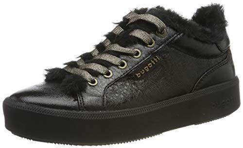 bugatti Damen 4314071A5900 Sneaker, Schwarz (Black/Black 1010), 38 EU