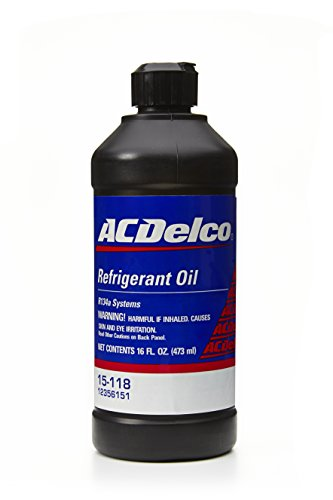 ACDelco 15-118 Air Conditioning System PAG Oil - 16 oz