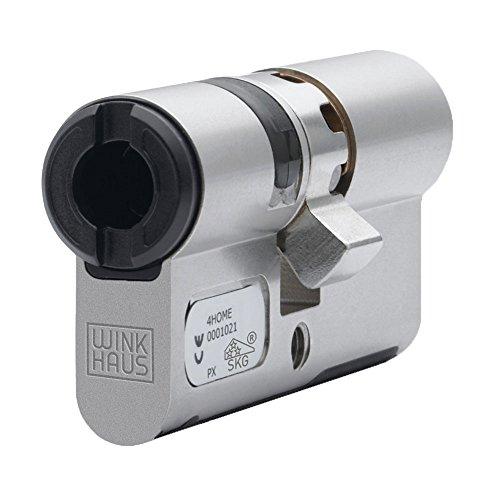 Winkhaus BO01V12TN3030N Elektronischer Doppelprofilzylinder für blueCompact Schließanlage Länge 30/30, 30/30 mm