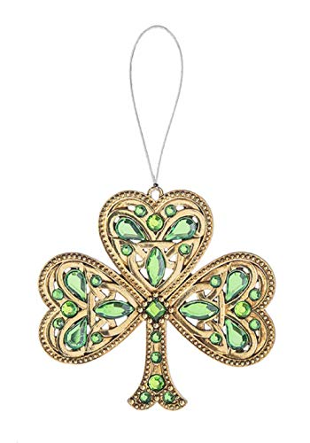 Ganz Celtic Shamrock Ornament