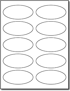 Best blank oval stickers Reviews