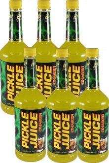 6 Pack / 1 Liter Pickle Juice Chaser