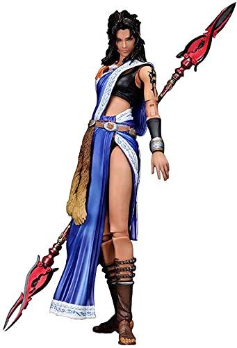 Hermry Devoluciones de rayos: Final Fantasy Xiii: Yun fang play arts kai acción figura estatua CLORURO DE POLIVINILO Personaje de dibujos animados en caja Modelo original Piezas de muebles Festival de