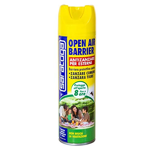 Antizanzare Spray per Esterni Open Air Barrier Saratoga 500ml
