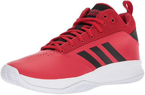 adidas Men's Ilation 2.0, Scarlet/core Black/White, 9.5 M US